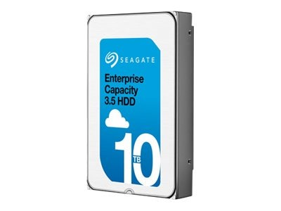 Seagate 10TB Enterprise Capacity SAS 12Gb s 512e 3.5 Internal Hard Drive (Helium)