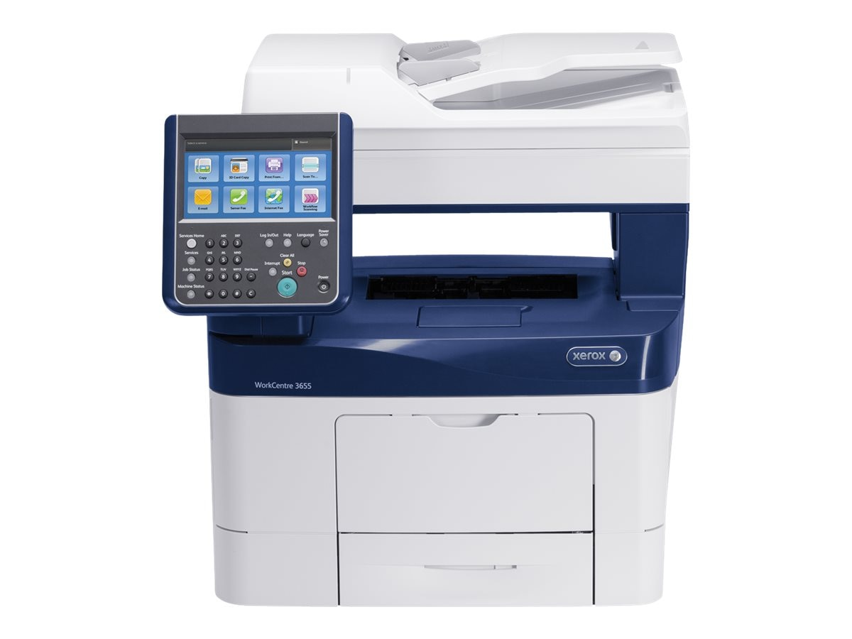 Xerox WorkCentre 3655 YXM Monochrome Multifunction Printer, 3655/YXM