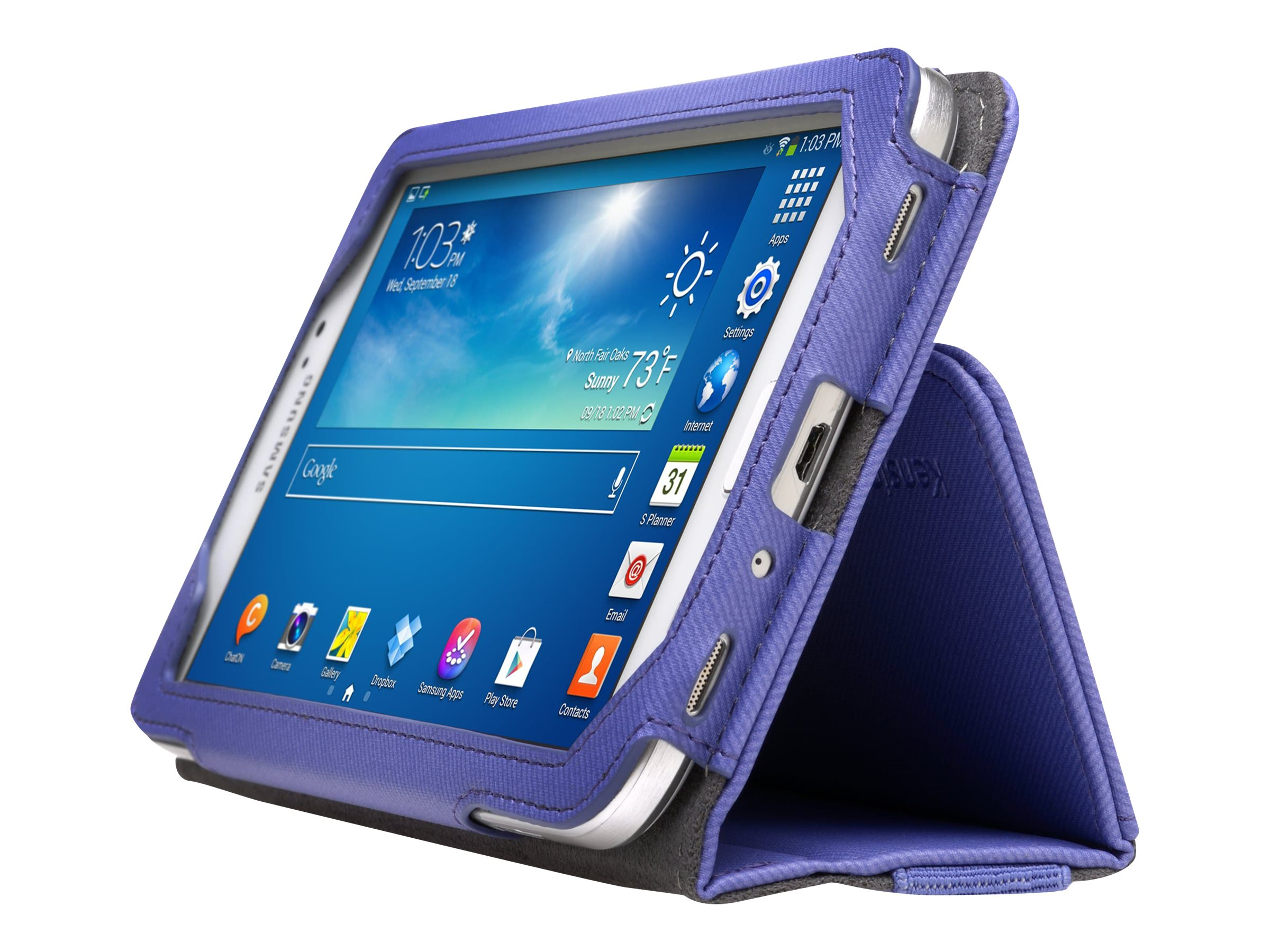 Kensington Portafolio Soft Folio Case for Samsung Galaxy Tab 3 7.0 Purple