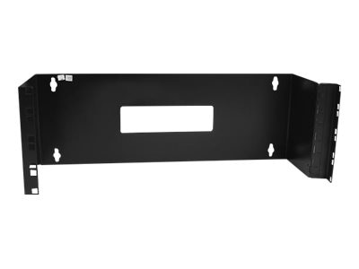 StarTech.com 4U x 19 Hinged Wall Mounting Bracket for Patch Panels, WALLMOUNTH4