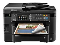 Epson WorkForce WF-3640 All-In-One Printer - $199.99 less instant rebate of $48.00, C11CD16201, 17456688, MultiFunction - Ink-Jet