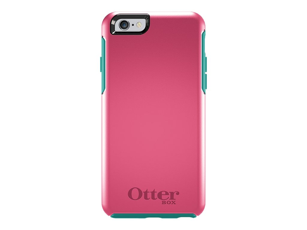 OtterBox Symmetry Series Case for iPhone 6, Teal Rose