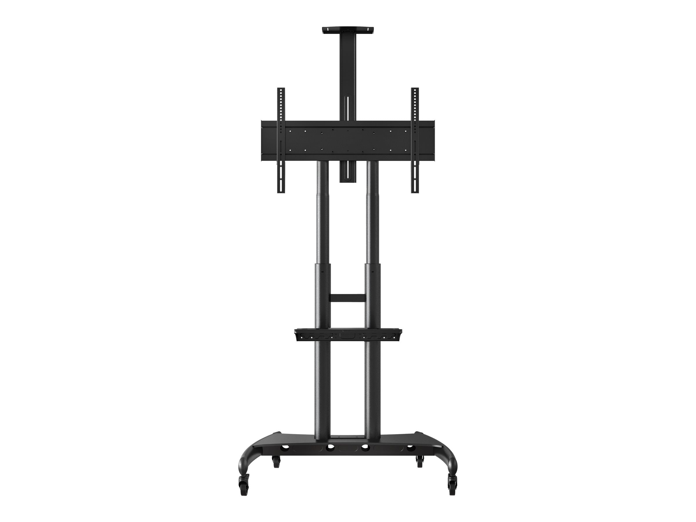Luxor Adjustable Height Stand for 40-80 Flat Panel Displays