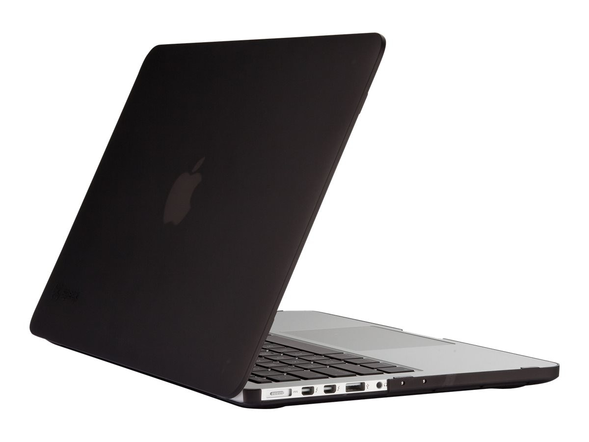 Speck Case for 13 MacBook w  Retina Display, See-thru Black, 71574-0581, 30810194, Carrying Cases - Notebook