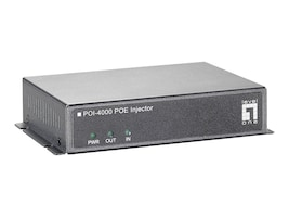 CP Technologies POI-4000 PoE 40 Watt High Power Injector, POI-4000, 14599051, PoE Accessories