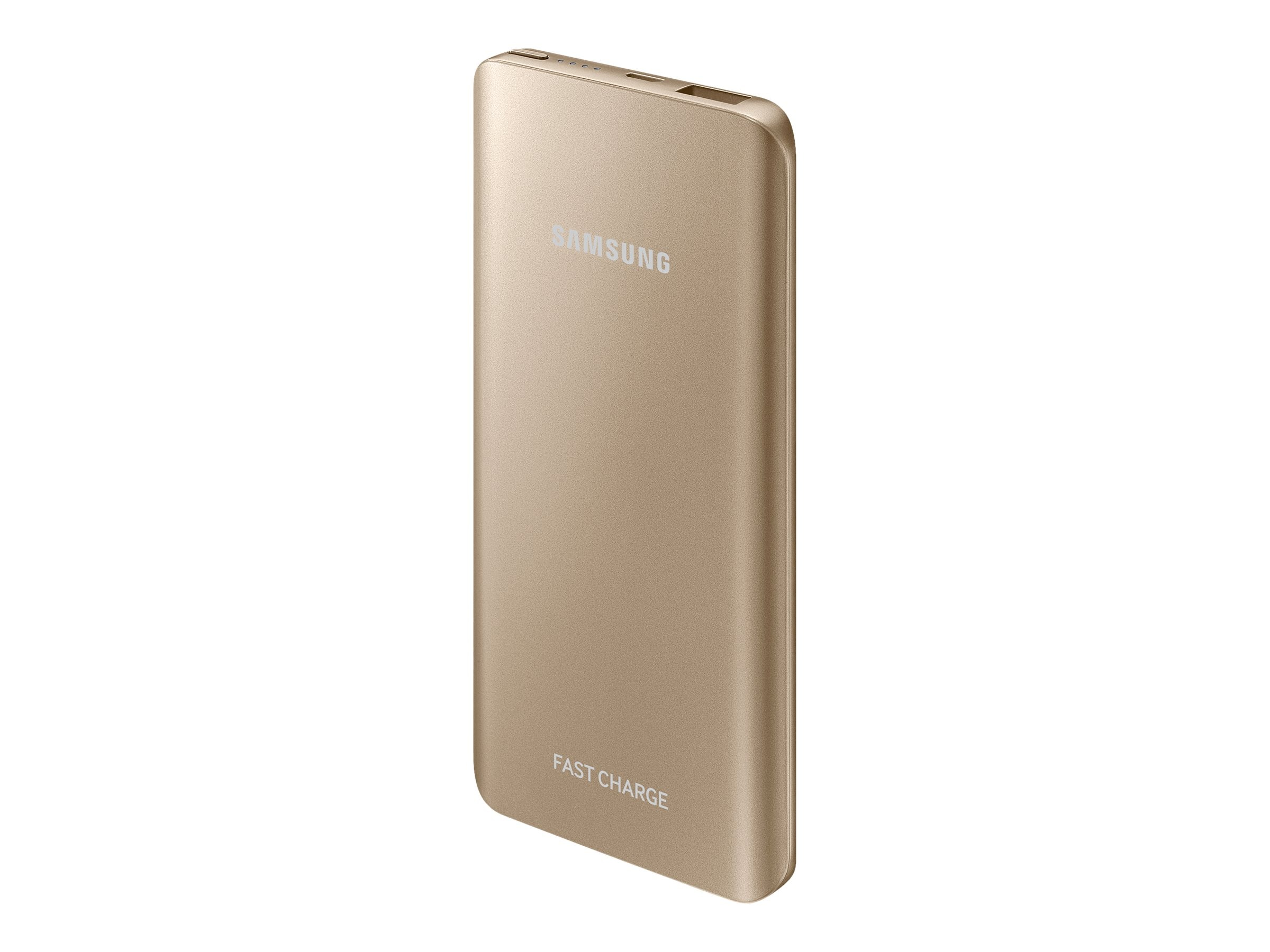 Samsung Fast Charge Battery Pack, 5200mAh, Gold