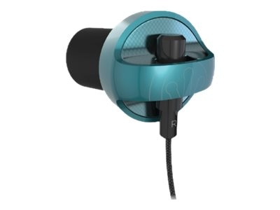 Ifrogz Carbide Earbuds - Teal, IFCARE-TL0, 23095276, Headsets (w/ microphone)