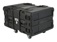 Stephen Gould 6-Space ATA Roto-Molded Shock 24 Rack Shipping Case, 3SKB-R906U24, 6210244, Carrying Cases - Other