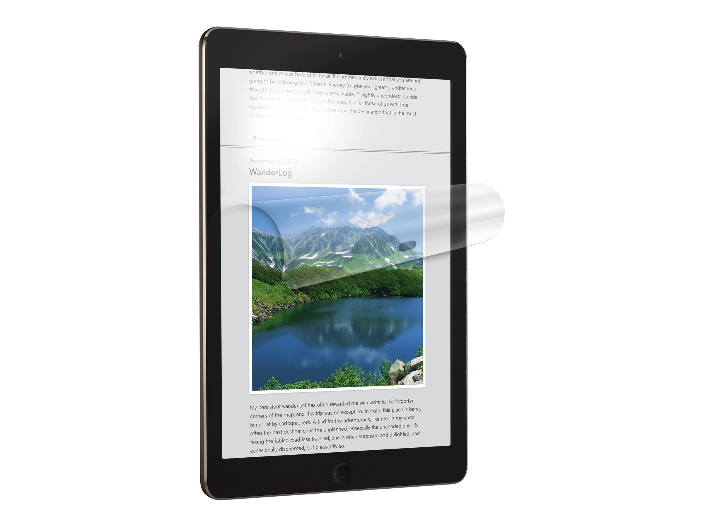 3M Anti-Glare Screen Protector for iPad Air, NVAG830864