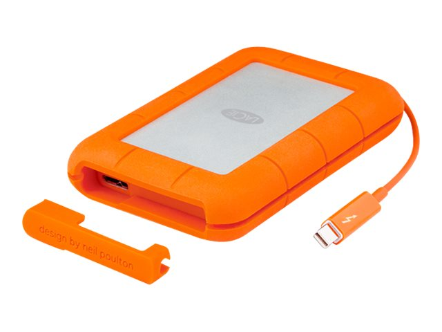 Lacie 1TB Rugged Thunderbolt USB 3.0 Professional All Terrain Storage, 9000488, 17410401, Hard Drives - External