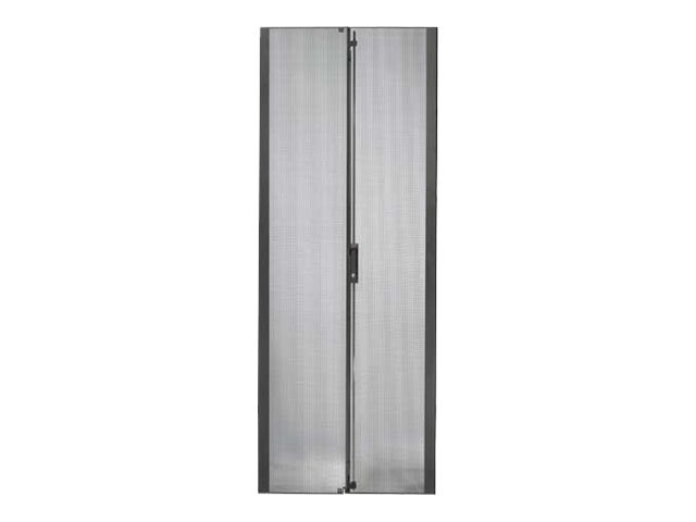 APC Netshelter SX 42U 750mm Wide Perforated Split Doors Black
