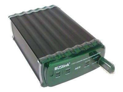 Buslink Media 2TB CipherShield USB 3.0 eSATA FIPS 140-2 AES 256-bit Encryption External Solid State Storage