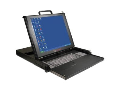 Avocent 17 LCD 1U Dual Rail Rackmount Console, LCD17-001, 6961427, KVM Displays & Accessories
