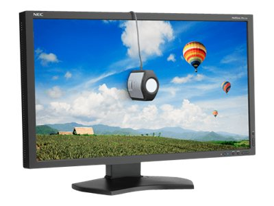 NEC 27 PA272W-BK LED-LCD Monitor, Black with SpectraView II Color Calibrator, PA272W-BK-SV