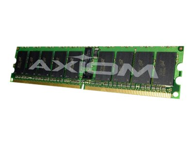 Axiom 64GB PC2-5300 240-pin DDR2 SDRAM RDIMM Kit for Select HP, Sun Server Models, AX16491708/8, 11701259, Memory