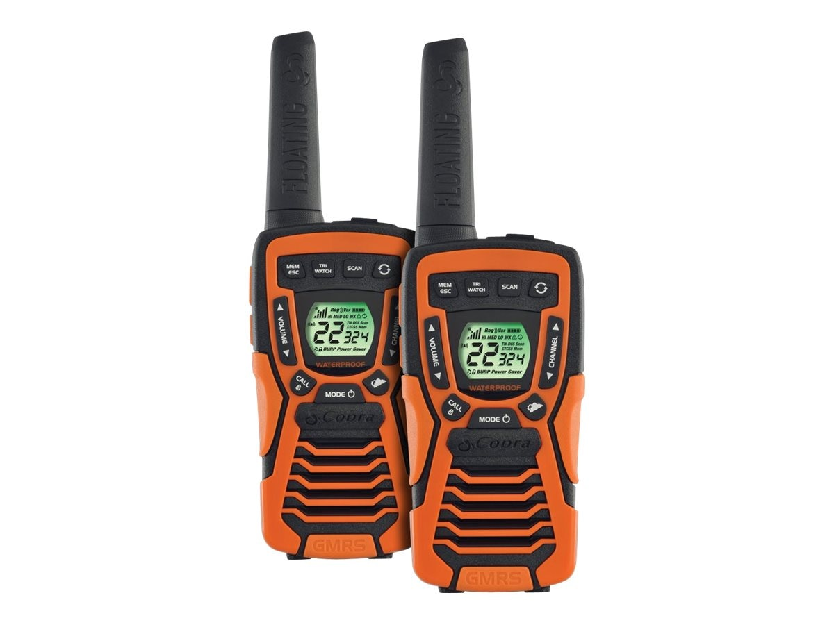 Cobra Electronics 37 Mile Floating Radio w  NOAA, CXT 1035R FLT, 20661287, Two-Way Radios