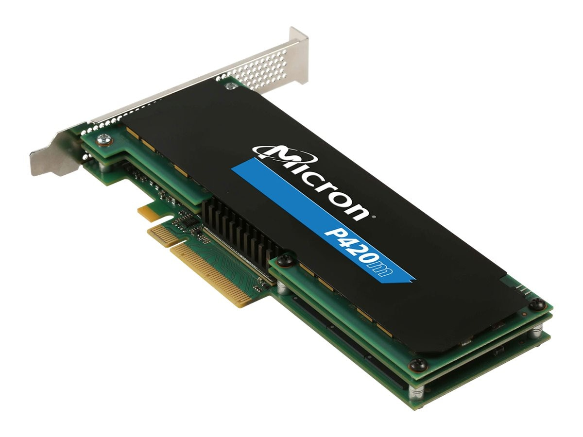 Crucial 1.4TB P420m Oprom 1 Bootable PCIe HHHL Solid State Drive