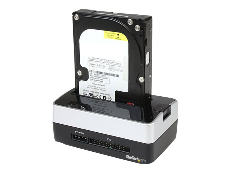 StarTech.com USB to SATA IDE External HDD Dock for 2.5 or 3.5 Hard Drives, UNIDOCK2U, 10622364, Hard Drive Enclosures - Single