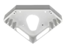 Bosch Security Systems Corner Mount Box, Aluminum White, NDA-SMB-CMT, 31204137, Mounting Hardware - Miscellaneous