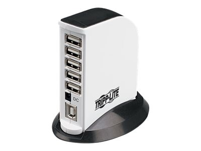 Tripp Lite 7-Port USB 2.0 Self- or Bus-Powered Mini Hub, U222-007-R, 6509529, USB & Firewire Hubs