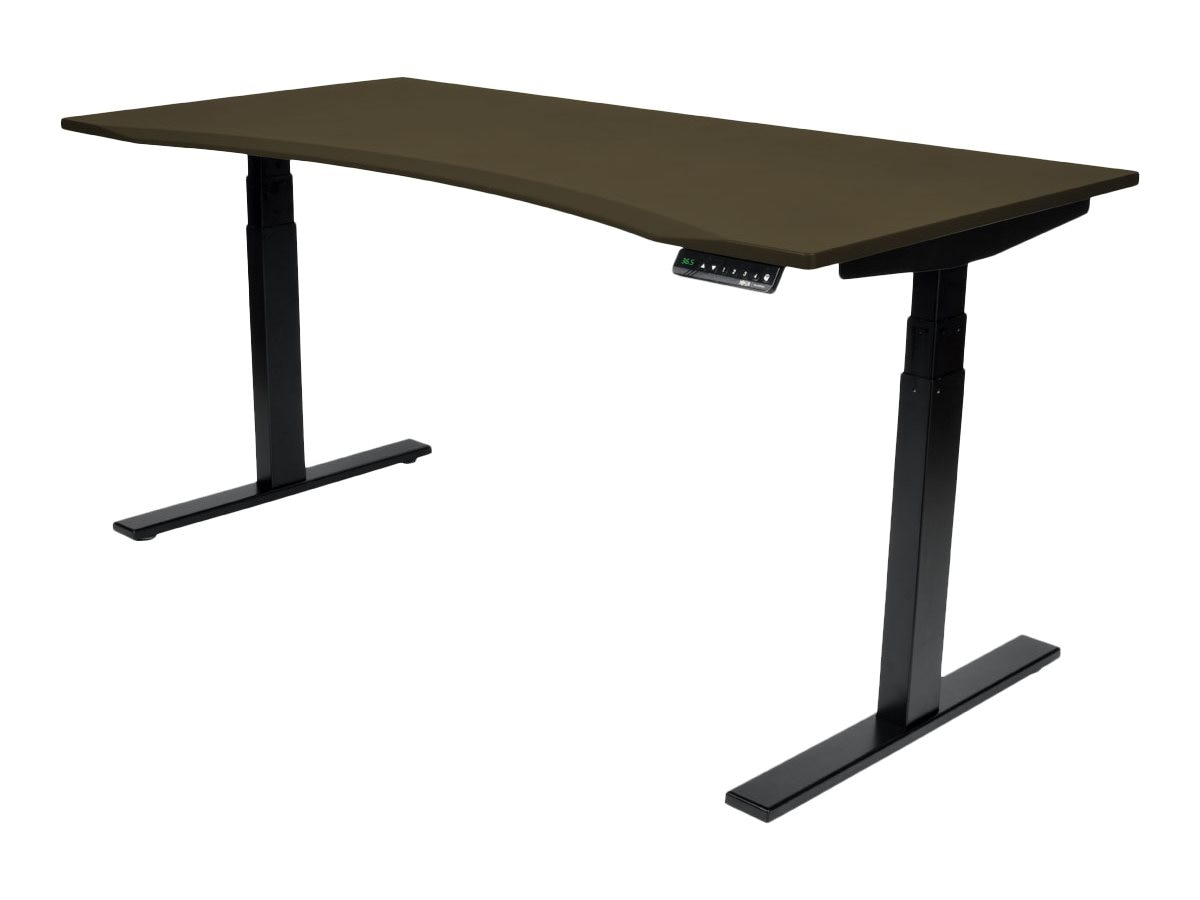 Tripp Lite 60 x 30 Sit Stand Desk Top for Height Adjustable WorkWise Standing Desk, Espresso, WWTOP60-ESC
