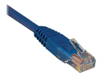 Tripp Lite Cat5e RJ-45 M M 350MHz Molded Patch Cable, Blue, 50ft, N002-050-BL