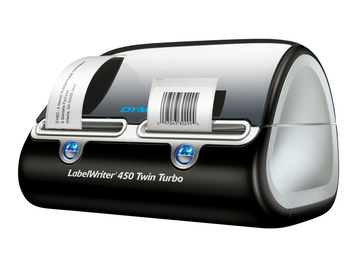 DYMO LabelWriter 450 Twin Turbo Printer, 1752266, 9710201, Printers - Label
