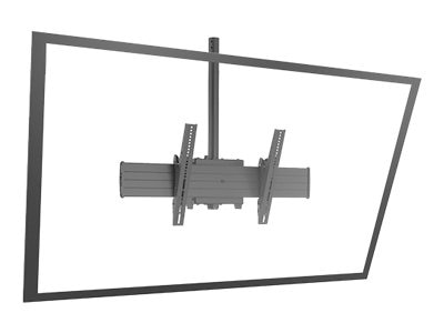 Chief Manufacturing FUSION X-Large Single Pole Flat Panel Ceiling Mounts