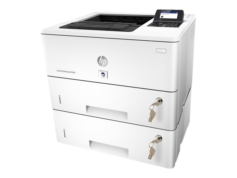 Troy M506N Secure Printer w  (2) Trays & (2) Locks