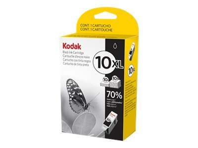 Kodak Black 10XL High Yield Ink Cartridge, 8237216, 11142881, Ink Cartridges & Ink Refill Kits