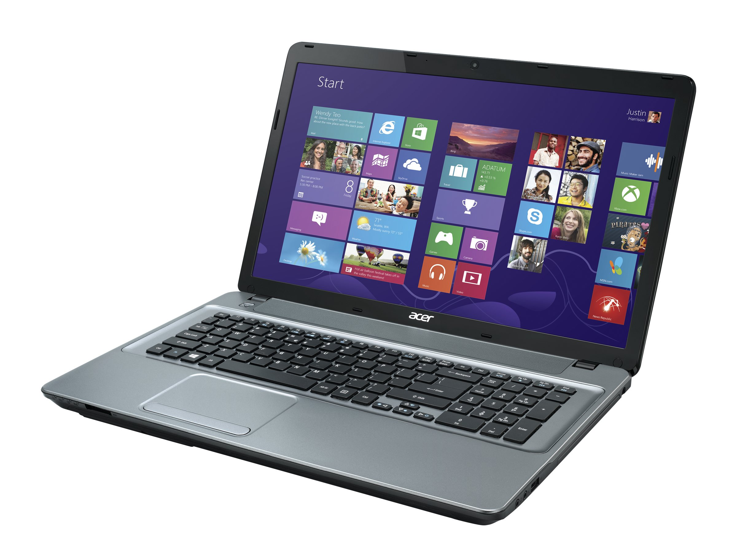 Acer Aspire E1-771-6496 : 2.6GHz Core i5 17.3in display, NX.MG7AA.005, 16733348, Notebooks