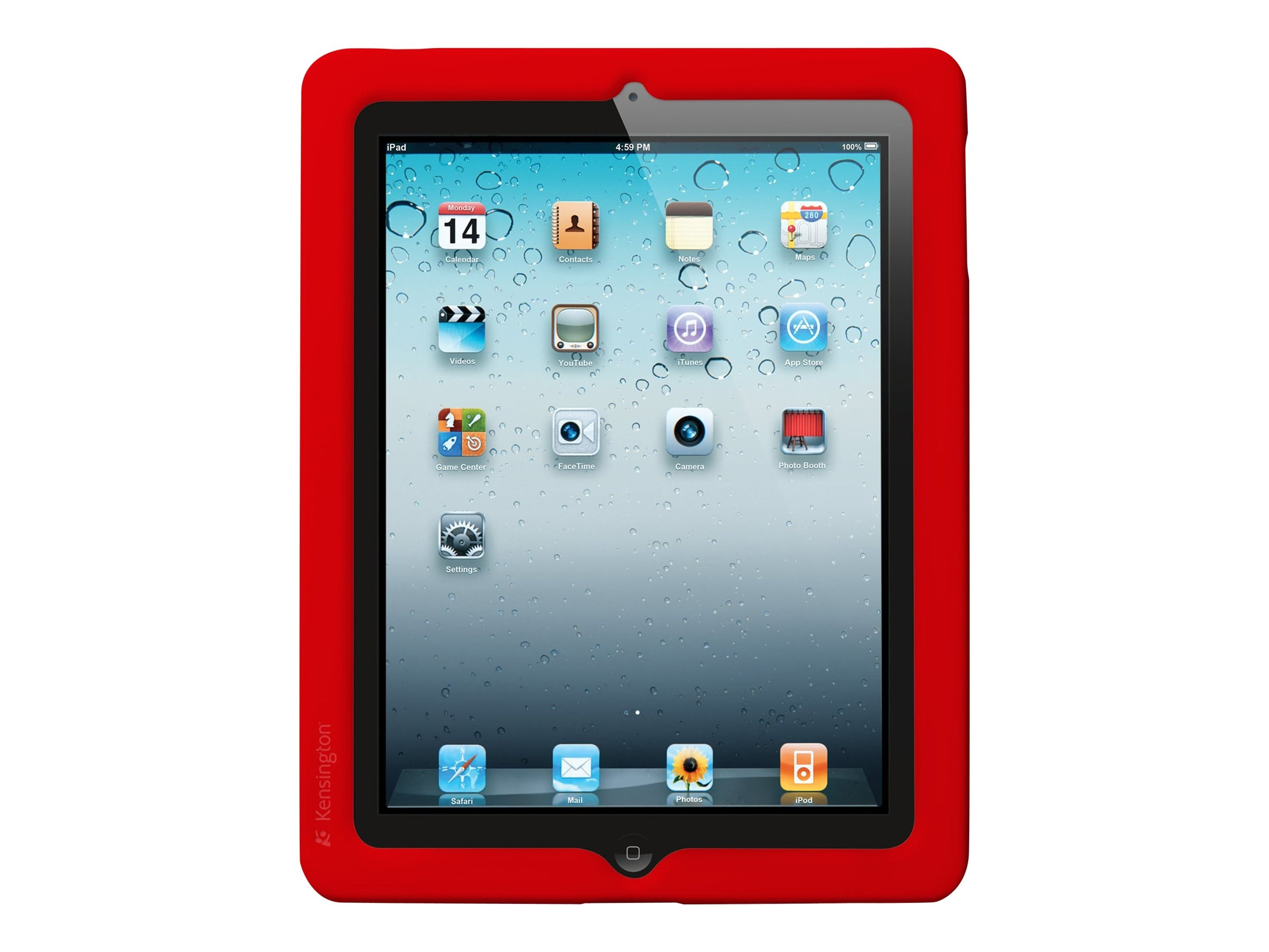 Kensington BlackBelt Protection Band for iPad 2, Red