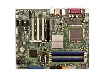 Supermicro Motherboard, 915G, P4, 800MHz, S775, ATX, Max 4GB DDR, PCIEX16, 3PCIEX, 3PCI, GBE, Audio, Video,SATA, P8SGA-O, 6483859, Motherboards