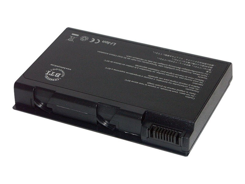 BTI Battery, Li-Ion, 14.4V, 4800mAh, 8-cell for Acer Aspire 5610Z BL50L8H, AR-AS5610ZX4, 12492516, Batteries - Notebook