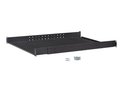 Kendall Howard 4-Point Adjustable Shelf, Vented, 1U, 1906-3-008-01, 9888000, Rack Mount Accessories