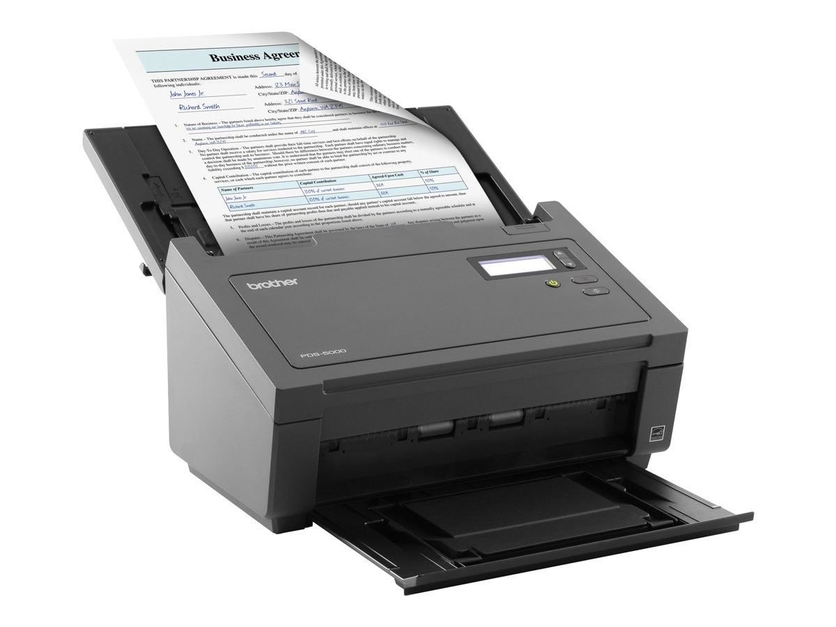 Brother Color Duplex Desktop Scanner