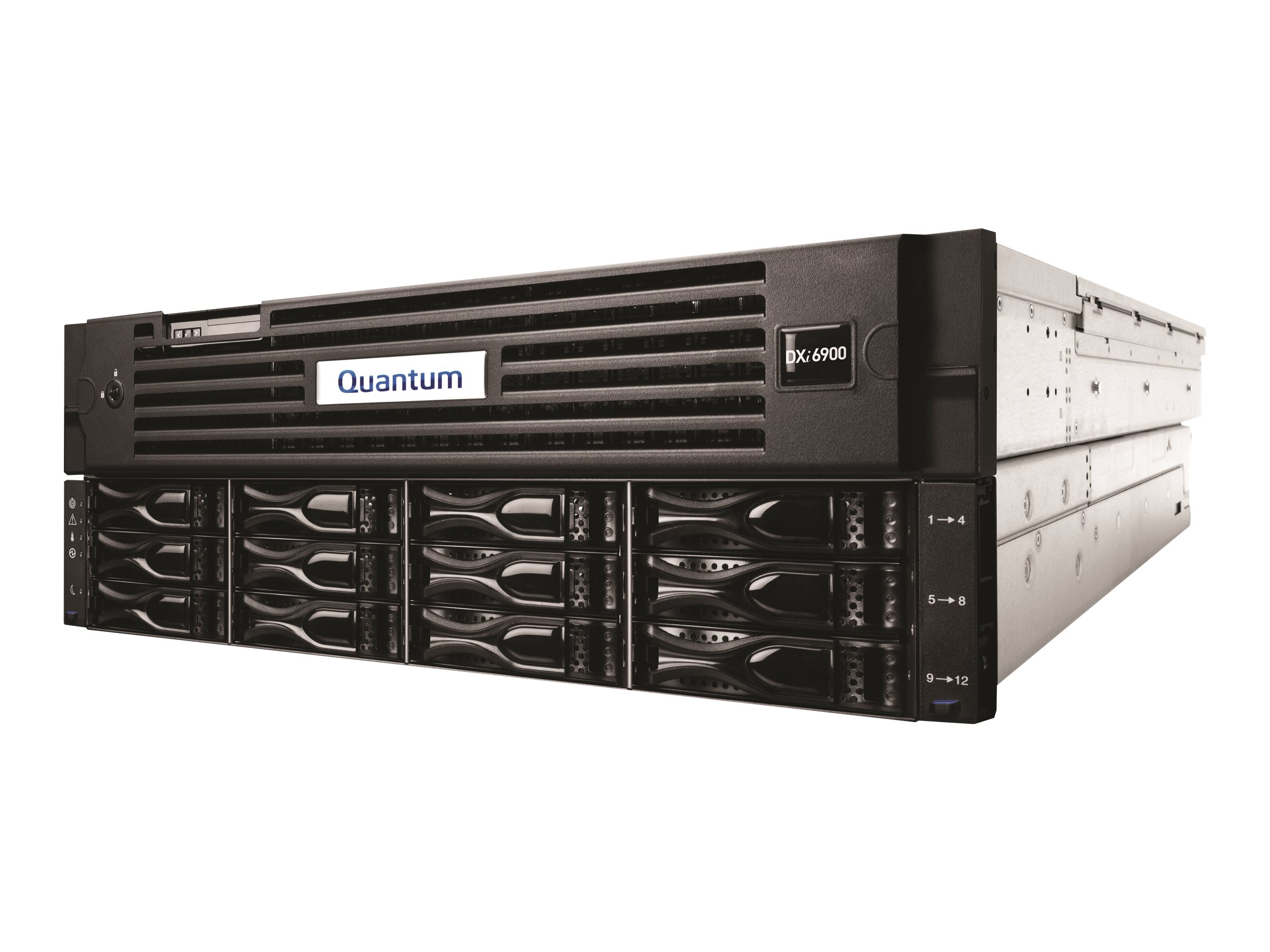 Quantum 17TB DXI6902 Disk Deduplication Backup Appliance, DDY69-CR02-017A, 17544371, Disk-Based Backup