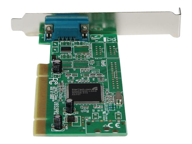 StarTech.com 1-Port PCI 16950 RS-232 Dual Voltage Dual Profile Serial Card, PCI1S950DV