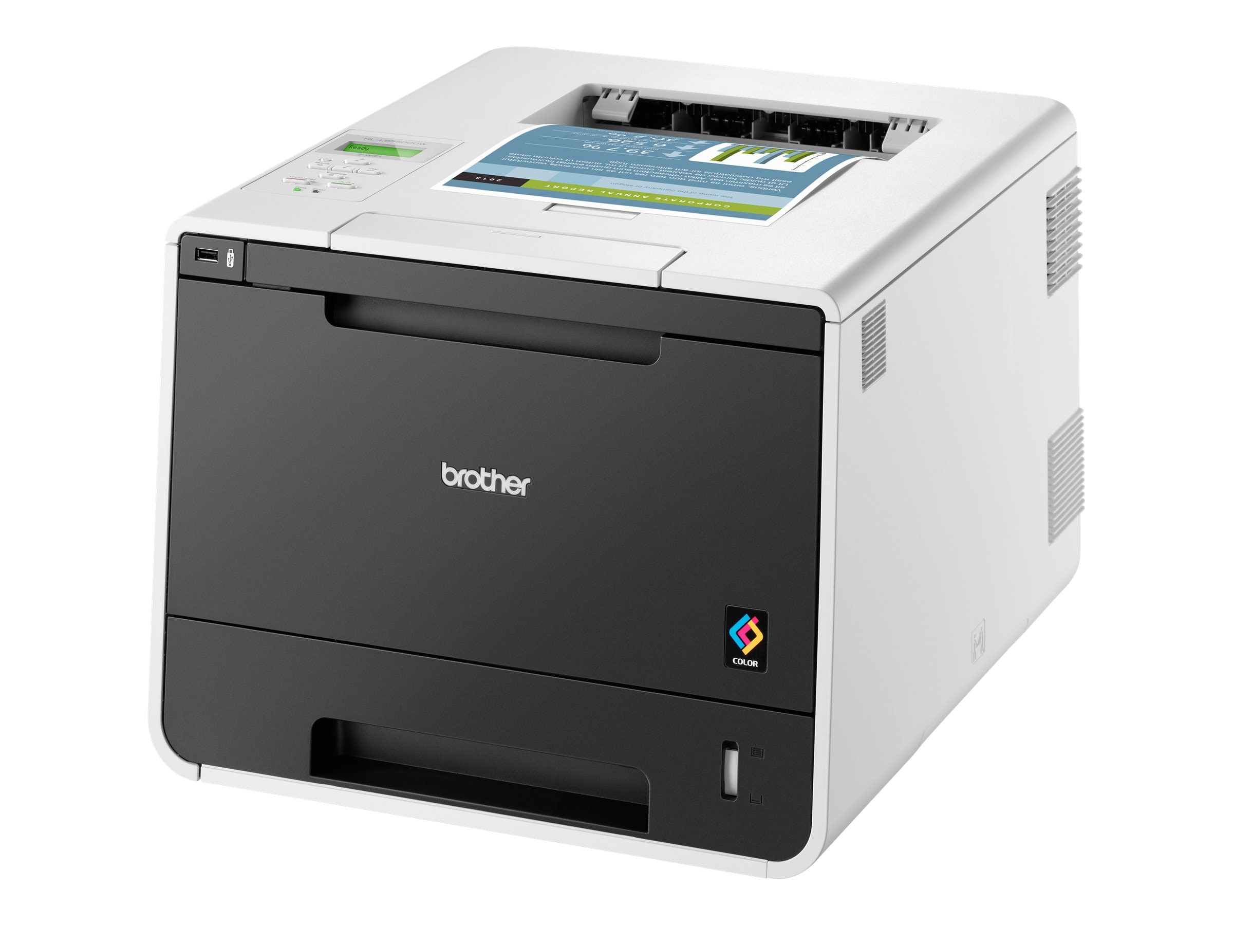 Brother HL-L8350CDW Color Laser Printer, HL-L8350CDW, 17039260, Printers - Laser & LED (color)