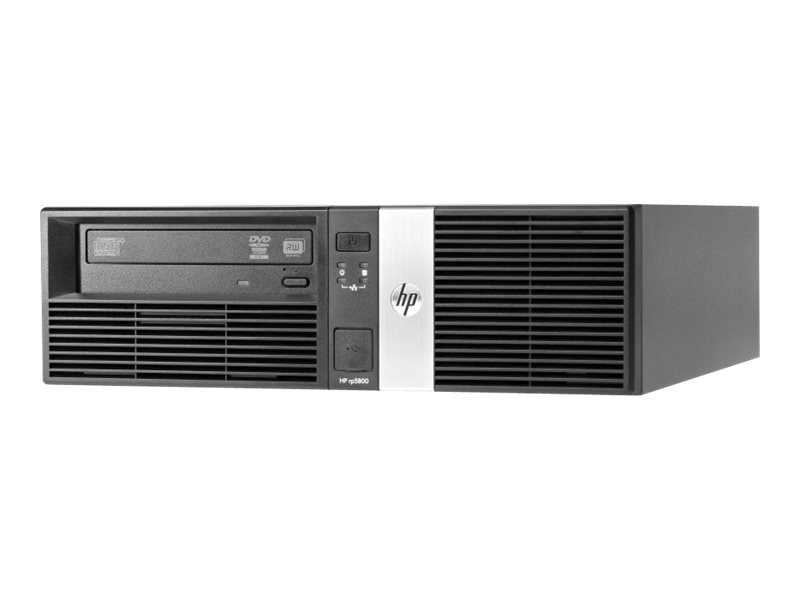 HP Smart Buy Retail System rp5800 I3-2120 3.3GHz 4GB 500GB Win 7 Pro 64-bit, E1Z33UT#ABA, 16067955, POS/Kiosk Systems