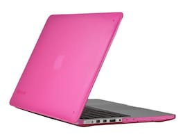 Speck SeeThru Case for MacBook Pro 13 Retina Display, Hot Lips Pink, 71576-B198, 32161909, Carrying Cases - Notebook