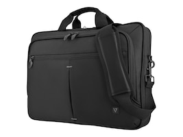 V7 15.6 Laptop Case Single Slim 16 Topload Trolley, Black, CTPS1-1N, 33602278, Carrying Cases - Notebook