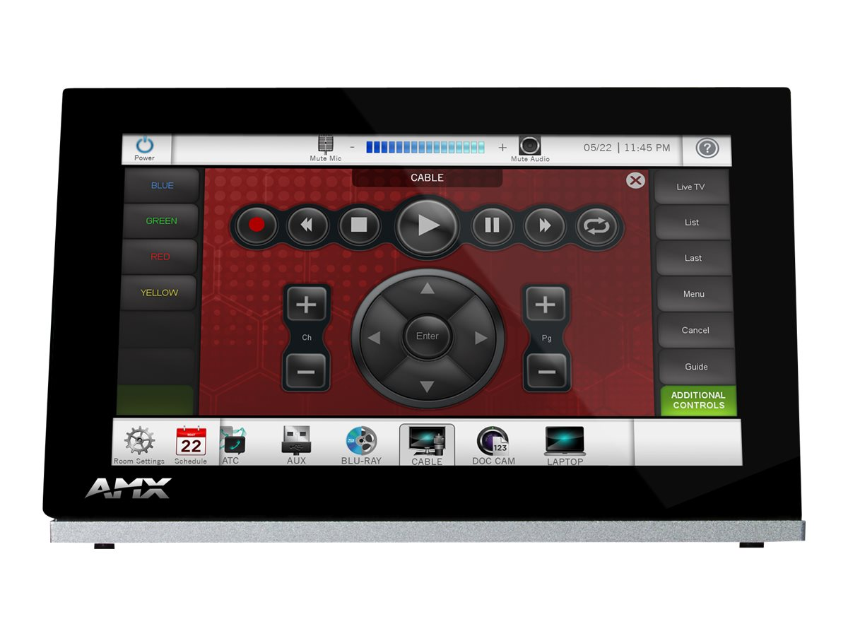 AMX 7 Modero S Series G4 Tabletop Touch Panel, FG2265-06