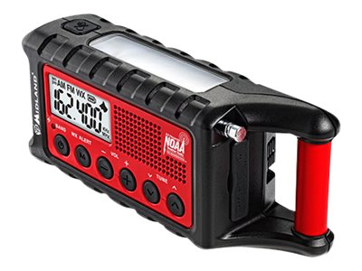 Midland Radio ER300 Emergency Crank Radio, ER300, 16838203, Two-Way Radios