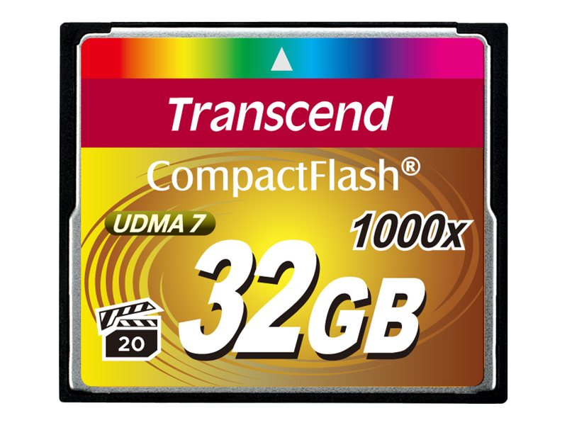 Transcend 32GB 1000x CompactFlash Memory Card