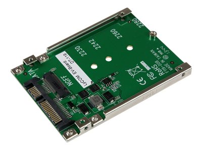 StarTech.com M.2 Solid State Drive to 2.5 SATA Adapter Converter, SAT32M225, 16966740, Adapters & Port Converters