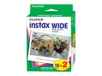 Fujifilm Instax Wide Instant Film - Twin Pack, 16385995, 16315429, Cameras - Film