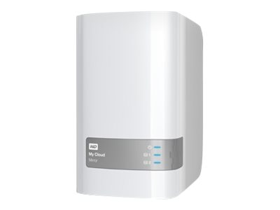 WD 16TB My Cloud Mirror (Gen 2) Personal Cloud Storage, WDBWVZ0160JWT-NESN