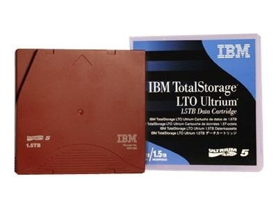 IBM 1.5TB 3TB LTO-5 Ultrium Tape Cartridge w  Barcode Label, 46X6666, 11882601, Tape Drive Cartridges & Accessories