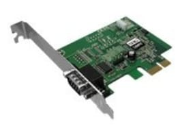 Siig 1-port DP CyberSerial PCIe 9-pin Serial 16950 UART Controller, JJ-E10011-S3, 10104031, Controller Cards & I/O Boards